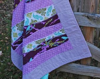 Handmade Wavey Quilt