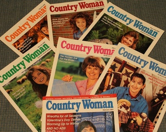 7 Country Woman Magazines