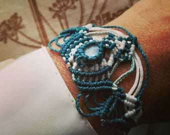Moon stone bracelet Rainbow