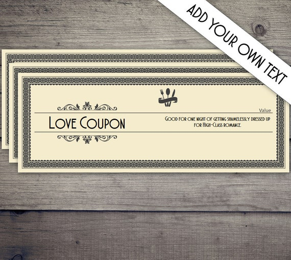 Coupon book coupon template love coupon date night coupon for Love coupons for him template