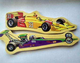 Super Cars  Magnet (Fast and the best) (2pcs)