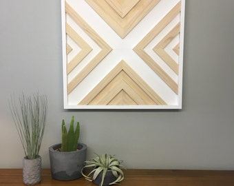 Wood Wall Art 2'x2'