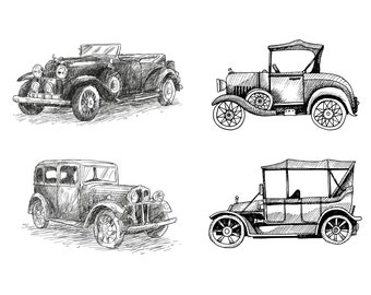 Architecture Drawing Cars