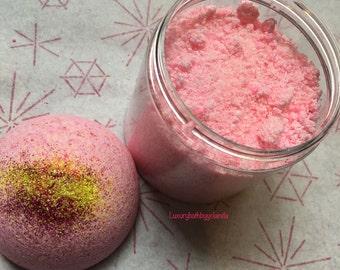 Pink Lemonade Bath Set