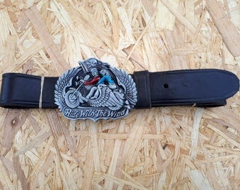 Belt leather HELL ON WHELS