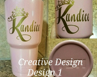 Princess Personalized Custom Tumbler,