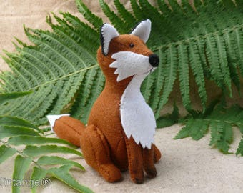 The Fox - PDF pattern - Instand download
