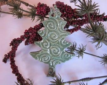 Ornament, Christmas, Tree, Pottery, Ceramic