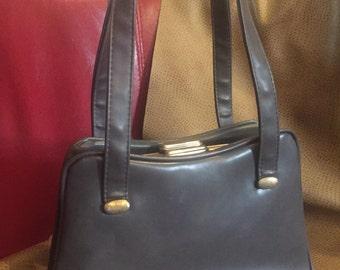 Vintage Grey Handbag