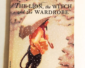 Chronicles of Narnia Book. The Lion, the Witch and the Wardrobe by C.S. Lewis.  Secret Adventures.  Kids tweens