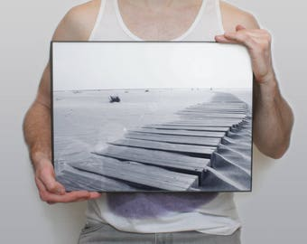 12x16 Poster- Sand and the Sea