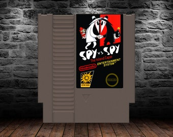 Spy vs Spy The Island Caper - Outwit your opponent to the death in this original spy adventure - NES - Unreleased