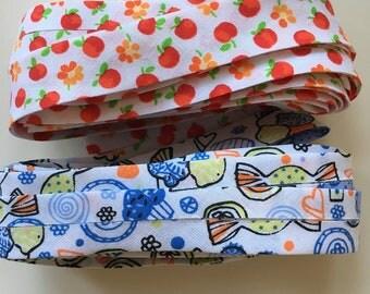 Cotton Bias, Fabric bias 2cm width per meter