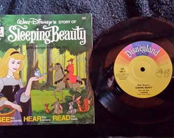 Walt Disney's Sleeping Beauty Book & Record