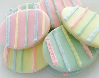 Easter Egg Sugar Cookies (Gluten Free Available!)