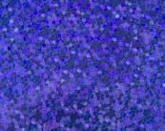 Blue Confetti Foil