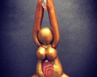 Goddess with Carnelian