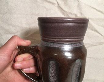 Metallic Textured mug