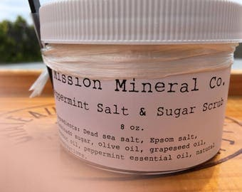 Peppermint Salt & Sugar Scrub