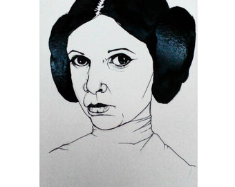 Illustration of Leia