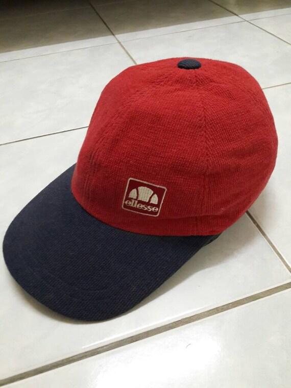 Sale! Vintage Ellesse cap hat streetwear Sport/tennis/golf/beach/fishing sun visor