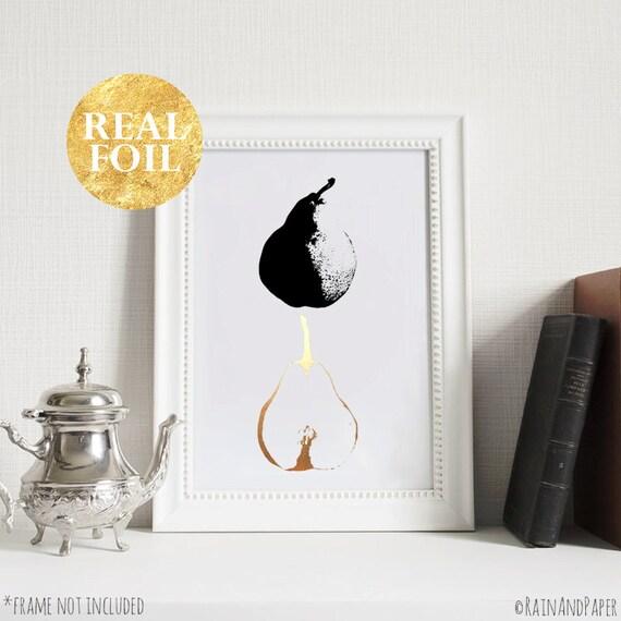 black and white home decor gold silver rose gold foil print. Black Bedroom Furniture Sets. Home Design Ideas