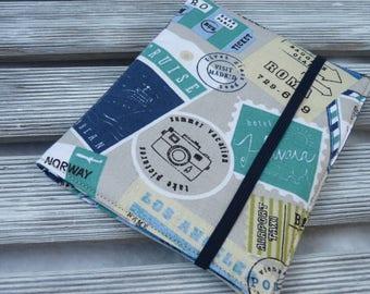 Fabric Passport cover, Passport holder, Holder 2 passports, passport wallet, Travel organizer, Travel wallet, Travel gift, Passport sleeve