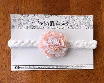 Flower headband baby, headband for baby flower, elegant, girls, braid, braid the hair accessory, hair accessory
