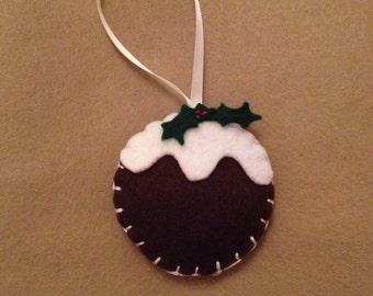 Handmade christmas decoration, felt