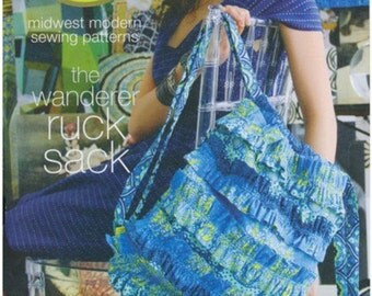 Wanderer Ruck Sack Pattern by Amy Butler