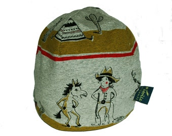 Indian: Star Filante beanies, organic cotton hat, beanie baby, children's hat, Cap for adults
