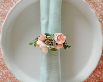 printable easter paper rings wedding napkin rings etsy 5287