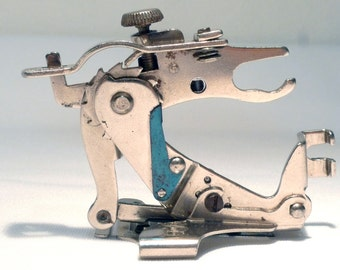 Rare Vintage SIMANCO SINGER Ruffler Low Shank Sewing Machine Attachment Foot Sale by 3FTERS Featherweight 221 222