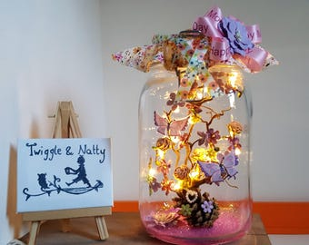 Happy Mothers Day Light Jar