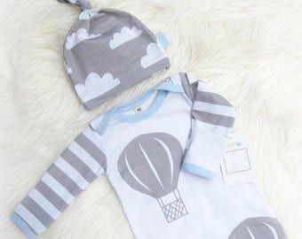 newborn sleep sack, newborn gown, newborn gown, newborn gown girl, newborn gown boy, newborn gown and hat, newborn sleeper, sleep sack, baby