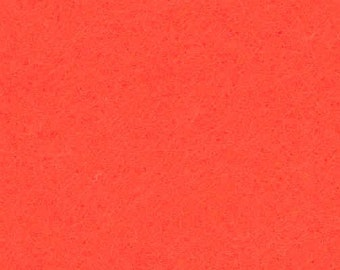 Orange Craft Felt Fabric - Kunin Felt - Crafting Felt
