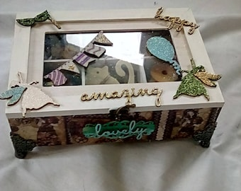 Handmade Wooden Craft Box