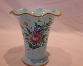 Vintage Italy Vase - Labeled Italy H.1/2 - FREE SHIPPING!