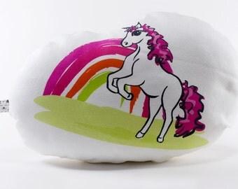 Rainbow Robyn Unicorn Softie