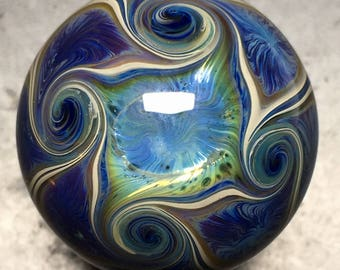 "Borosilicate Glass Marble 1.13"""