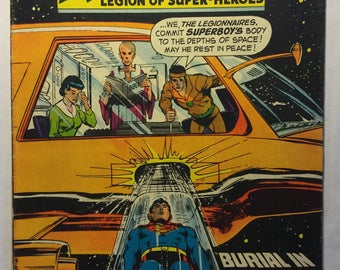Adventure Comics #379, April 1969, Superboy and the Legion of Super-Heroes