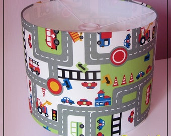 "Lampshade ""City together"""
