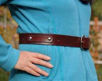 Gardening Belt - Leather Gardening Belt, Gardening Tool Carrier