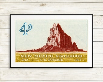 New Mexico posters, teen room ideas, shiprock nm, US national parks, Albuquerque NM, classroom decor, homeschool, retirement poster, prints