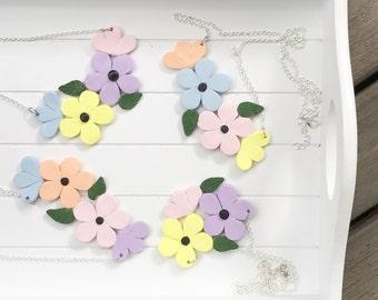 Pastel Garden collection (necklace)