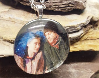 Eternal Sunshine of the Spotless Mind/ Eternal Sunshine of the Spotless Mind Necklace/ Jim Carey/ Kate Winslet/ Cult Classic/ Movie Buff