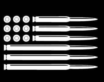 Ammo Flag sticker