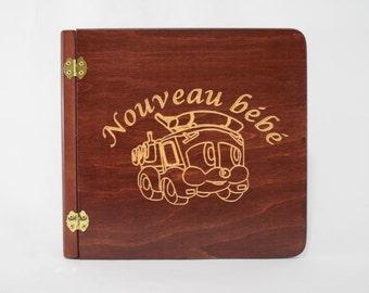 Wooden fire truck (105223) photo album