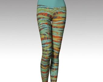 Plaid Leggings, Modern Leggings, Printed Leggings, Yoga Pants, Yoga Leggings, Women's Leggings, Leggings, Gift for her