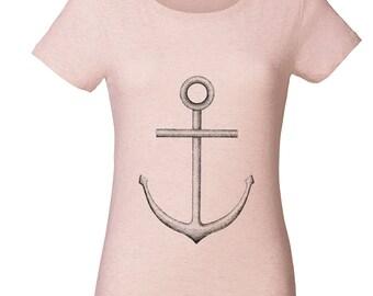 Anchor round neck T-shirt